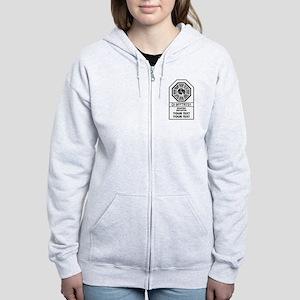 Custom Dharma Label Zip Hoodie