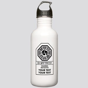 Custom Dharma Label Water Bottle
