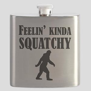 Feelin Kinda Squatchy Flask