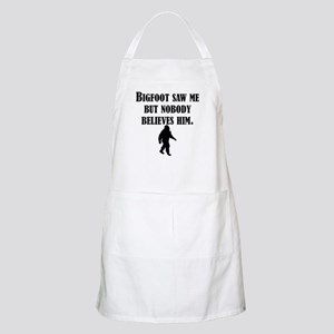Bigfoot Saw Me Apron