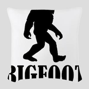 Bigfoot Woven Throw Pillow