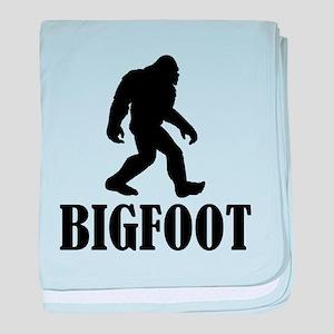 Bigfoot baby blanket