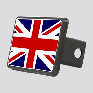 Union Jack Flag of the Uni Rectangular Hitch Cover