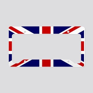Union Jack Flag of the United License Plate Holder