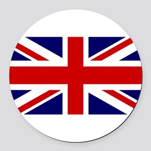 Union Jack Flag of the United Kin Round Car Magnet