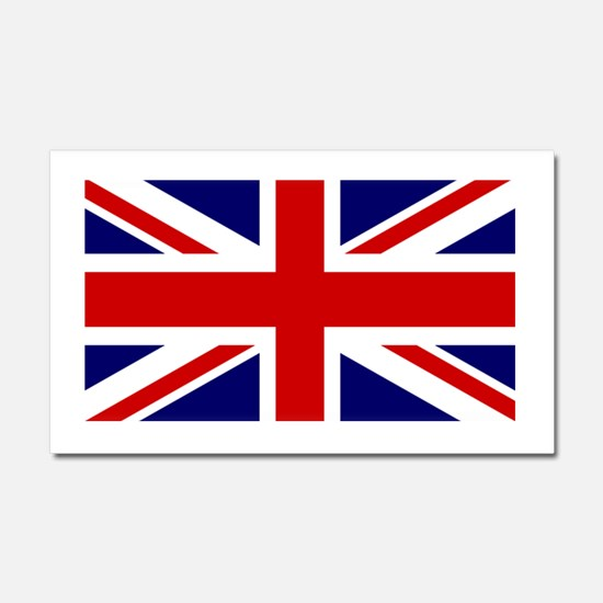 Union Jack Flag of the United K Car Magnet 20 x 12