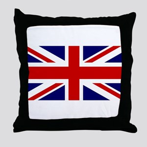 Union Jack Flag of the United Kingdom Throw Pillow