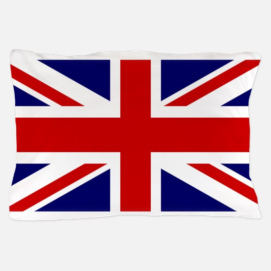 Union Jack Flag of the United Kingdom Pillow Case