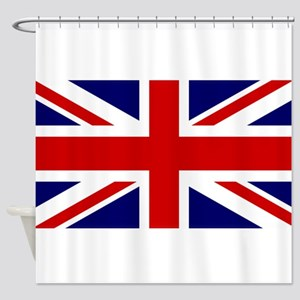 Union Jack Flag of the United Kingd Shower Curtain
