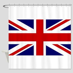 Union Jack Flag Of The United Kingd Shower Curtain