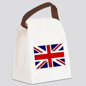 Union Jack Flag of the United Kin Canvas Lunch Bag