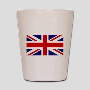 Union Jack Flag of the United Kingdom Shot Glass