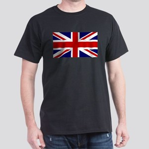 Union Jack Flag of the United Kingdom Dark T-Shirt