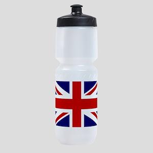 Union Jack Flag of the United Kingdo Sports Bottle