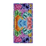Colorful Coral Beach Towel