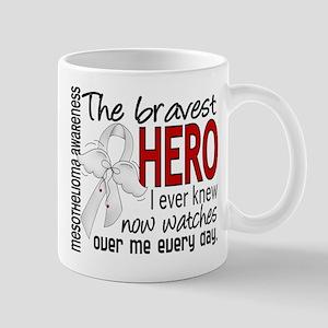Bravest Hero I Knew Mesothelioma Mugs