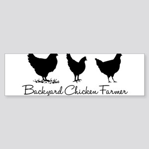 backyardchickenfarmer Bumper Sticker