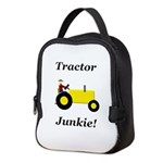 Yellow Tractor Junkie Neoprene Lunch Bag