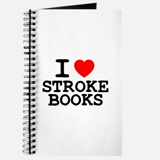 I LOVE STROKE BOOKS Z Journal