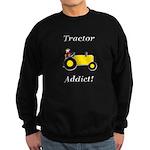 Yellow Tractor Addict Sweatshirt (dark)