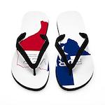Forever Texas Dark Flip Flops