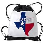 Forever Texas Dark Drawstring Bag