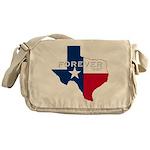 Forever Texas Dark Messenger Bag
