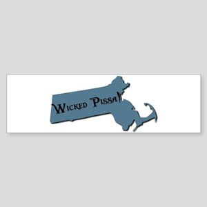 Wicked Pissa Massachusetts Bumper Sticker