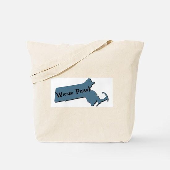 Wicked Pissa Massachusetts Tote Bag