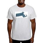 Wicked Pissa Massachusetts Light T-Shirt