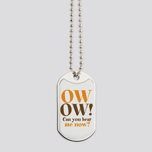 OW OW! Dog Tags