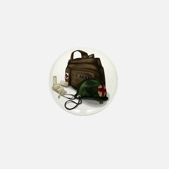 Army Medic Mini Button