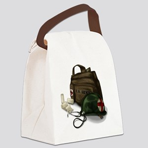Army Medic Canvas Lunch Bag
