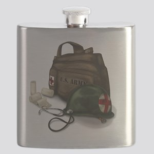 Army Medic Flask