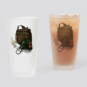 Army Medic Drinking Glass