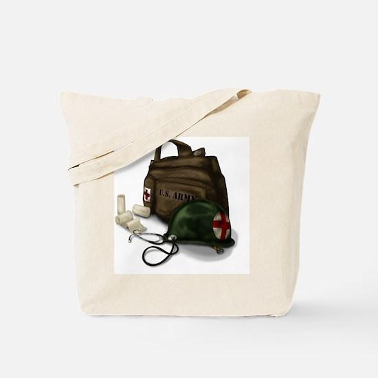 Army Medic Tote Bag