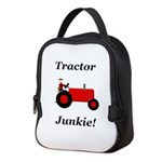 Red Tractor Junkie Neoprene Lunch Bag