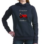 Red Tractor Junkie Hooded Sweatshirt
