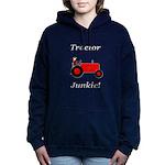 Red Tractor Junkie Hooded Sweatshirt