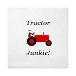 Red Tractor Junkie Queen Duvet