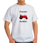 Red Tractor Junkie Light T-Shirt