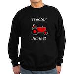 Red Tractor Junkie Sweatshirt (dark)