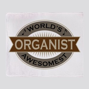 Awesome Organist Throw Blanket
