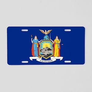 New York flag Aluminum License Plate
