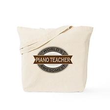 Awesome Piano Teacher Tote Bag