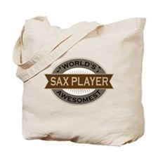 Awesome Sax Player Tote Bag