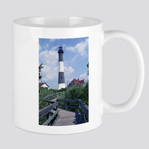 Fire Island Lighthouse Mugs