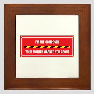 I'm the Composer Framed Tile