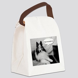Dogs Are People Too Canvas Lunch Bag