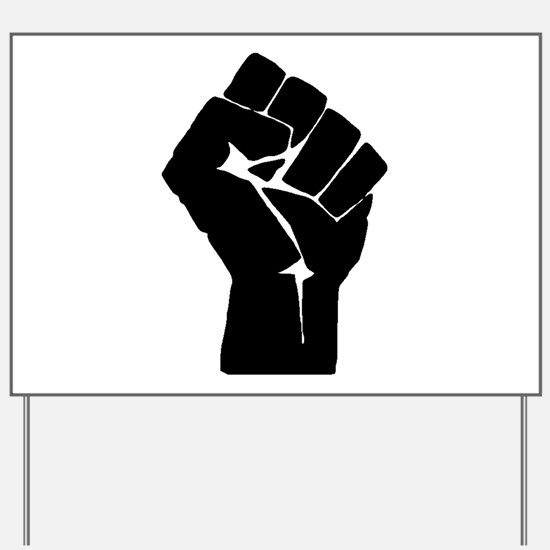 Solidarity Salute Yard Sign